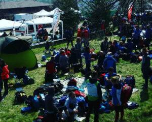 A7CSOK al week-end nazionale sul Montello