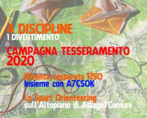 Campagna tesseramento A7CSOK 2020