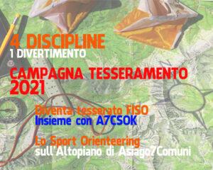 Campagna tesseramento A7CSOK 2021